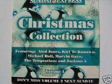 MICHAEL JACKSON UK CD DAILY EXPRESS XMAS COLLECTION V01
