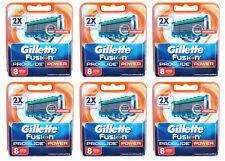 48x Gillette Fusion ProGlide Power Klingen / 48er razor blades Gilette Gilete
