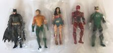 Batman Aquaman Wonder Woman Green Lantern Flash 5 PVC Action Figures Justice