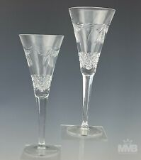 Pr Signed Waterford Crystal Millennium Peace Dove Champagne Toasting Flutes Bpb