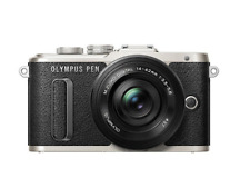Olympus PEN E-PL8 Compact System Camera with 14-42mm II R Lens - Black