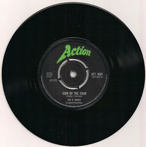 NORTHERN SOUL 45 JOE S. MAXEY - SIGN OF THE CRAB / MAY THE BEST MAN WIN - ACTION