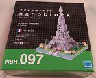 Kawada Nanoblock RIVES DE LA SEINE A PARIS FRANCE building toy NBH 097 Japan