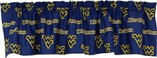 "West Virginia Mountaineers College Covers Curtain Valance 84"" x 15"""