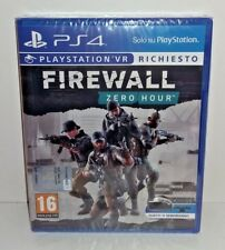Firewall Zero Hour PS4 NUOVO ITA