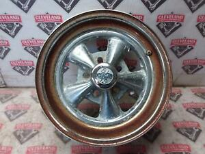 1969 69 Dodge Charger B Body Cragar Steel Wheel 15 inch *RUSTED*