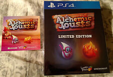 Alchemic Jousts Collector's Edition PS4 Playstation w/ Soundtrack + Sticker