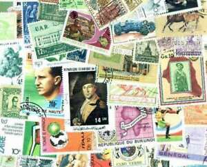 Exceptional Stamp Collection of 3,000 Different Stamps from Around the World