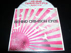 Behind Crimson Eyes Addicted Rare Australian Roadrunner Records Promo CD