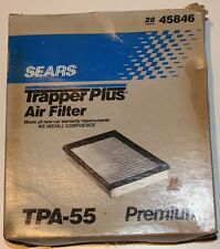 Sears Trapper Plus Air Filter 2845846 Cross References Fram CA3717 Ford Mercury