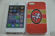 San Francisco SF NFL Football Hard Plastic Full Back Case - Apple iPhone SE 5 5S