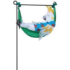 Cockatoo Takes a Break Garden Size Charm PR 59157
