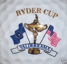 (1) RYDER CUP TOURNAMENT - VALDERRAMA GOLF COURSE LOGO GOLF BALL