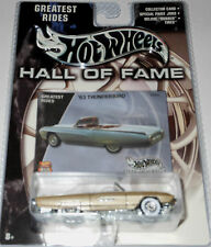 HOT  WHEELS  HALL of FAME : '63 THUNDERBIRD - scale 1:64 yr.2002