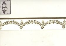 Faux Plaster Gilded Ceiling / Wall Molding 34911 World & Model Faux 1/12 scale