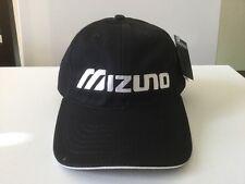 New Mizuno Black & White Adjustable Golf Hat