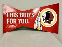 Budweiser Bud Light Washington  Bar Home Decor Tim Metal Sign Redskins Poster