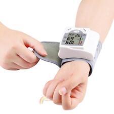 Digital LCD Health Arm Meter Pulse Wrist Blood Pressure Monitor Sphygmomanometer