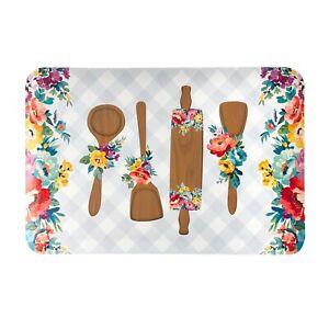 """Pioneer Woman Utensils Comfort Rug/Kitchen Mat 20"""" W x 30"""" L-100%PVC*Brand New*"""