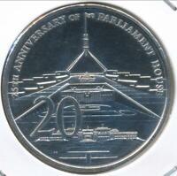 Australia, 2013 Twenty Cents, 20c, Elizabeth II (Parliament House) - Gem-Unc