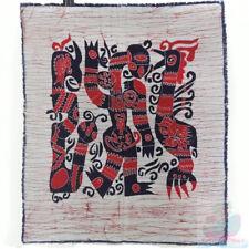 Chinese Home Wall Hanging Handmade Batik Tapestry-abstract Human Phenix Snake