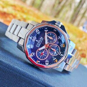 Corum Admirals Cup Challenge 44 Blue Dial Men's Watch 753.691.20.V701 AB92