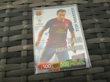 Adrenalyn XL UEFA Champions League 2011/12 Xavi Hernandez Top Master Card