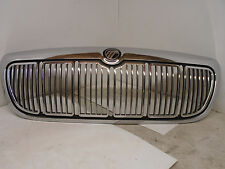 98 99 00 01 02 Mercury Grand Marquis Front Chrome Grill NICE OEM Black Emblem