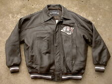 Avirex leather Flight Jacket Gambler's Club King Casino Biker size: XXXL
