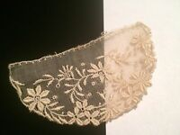 Antique Lace Sewing Trim Appliqué Salvage Doll Costume Sheer  #A