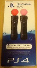 Sony Playstation Move controller di movimento 2 Pack PS3 PS4 NUOVO per Natale e Skyrim
