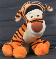 "Disney Tigger Plush 16"" Sitting 23.5"" From Top of Head to End of Tail (curled)"
