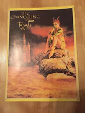 Toyah - The Changeling Tour Programme 1982 & Ticket Stubs