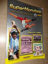 ALBUM FIGURINE CALCIATORI PANINI SUPERMONDIALE MEXICO-MESSICO 1986 MARADONA COMP