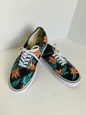 Vans Authentic Vintage Aloha Black True White VN-018BGXN Mens Size 6.5 Womens 8