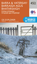 Barra and Vatersay Explorer Map 452 - OS - Ordnance Survey 2015