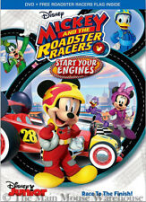 Mickey Mouse Clubhouse Mickey and the Roadster Racers Start Your Engines DVD