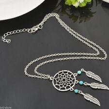 Markenlose Modeschmuck-Halsketten aus Federn für Damen