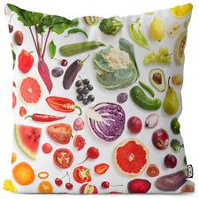 Obst Gemüse Kissenhülle Fruits Vegetables Obst Früchte Essen Vitamine Kochen