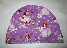 Kids Chemo Hat Priness Sofia Alopecia Sleep Cap Child  Cancer Hat