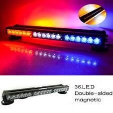 12V LED Warning Flash Strobe Light Color Red/White/Blue Bar Roof Brake Lights