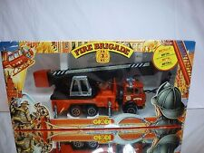 TECHNO GIODI FIAT 697 TRUCK FIRE BRIGADE CRANE - RED 1:35 - EXCELLENT IN BOX