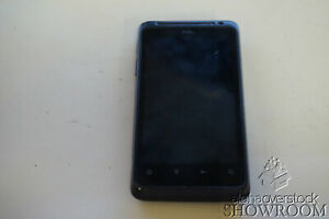 Used Untested HTC EVO  4G Design PH44100 Black for Parts or Repair Only