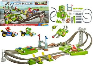 Hot Wheels Mario Kart Circuit Track Set Age 5+ Toy Race Play Car Gift Video Game