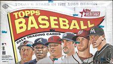 2014 Topps Heritage Factory Sealed Baseball Hobby Box  Xander Bogarts RC ??
