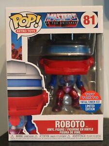 Funko Pop! - ROBOTO 81 Masters Of The Universe MOTU - Toy Tokyo FUNKON 2021 [1]