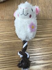 Cute Plush Lamb Dog Toy Brand New With Tags, suitable For Puppies with Squeaker