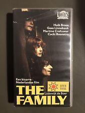 The Family Ex-Rental Vintage VHS Tape Dutch NL Film Videoband