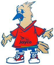 "Jayco ""Jay Jay Bird"" Decal Vinyl Rv Trailer Decal Graphic Sticker Logo 11""X13"""