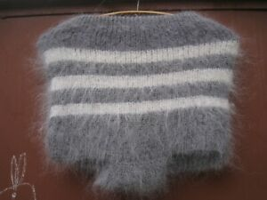Briefs shorts  underpants goat down handknitted craft cashmere Mohair Angora